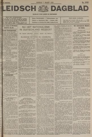 Leidsch Dagblad 1933-03-07