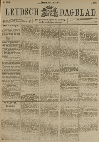 Leidsch Dagblad 1902-07-14