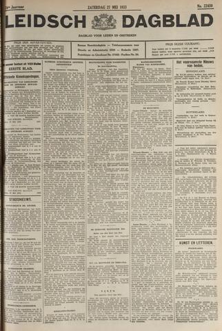 Leidsch Dagblad 1933-05-27