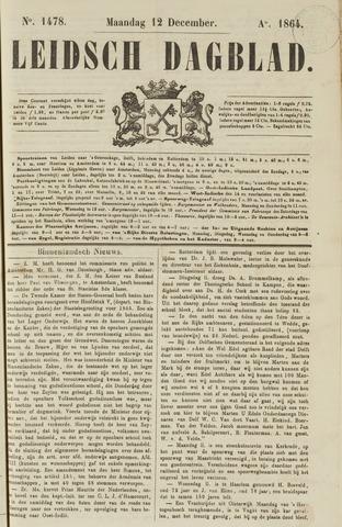 Leidsch Dagblad 1864-12-12
