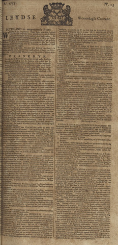 Leydse Courant 1755-01-29