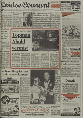 Leidse Courant 1987-09-12