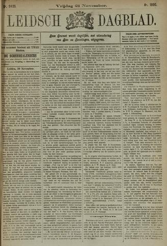 Leidsch Dagblad 1890-11-21