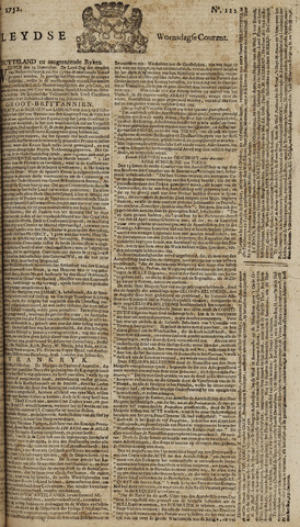 Leydse Courant 1752-10-11