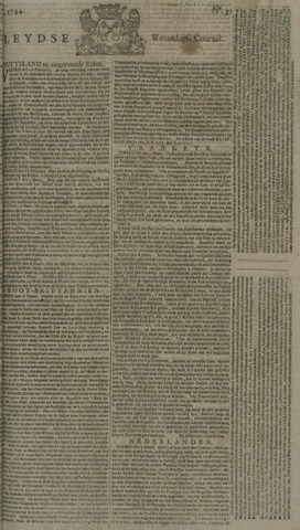 Leydse Courant 1744-03-11