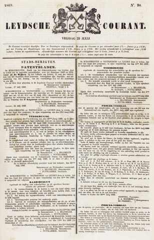 Leydse Courant 1869-07-23