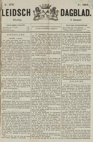 Leidsch Dagblad 1869-01-05
