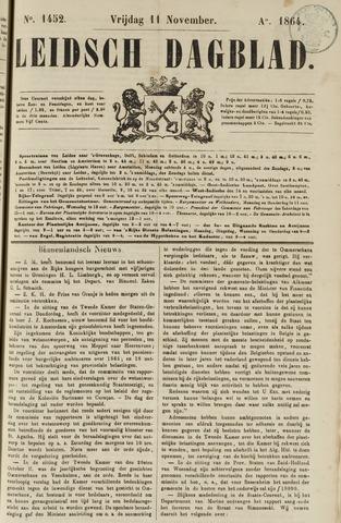 Leidsch Dagblad 1864-11-11