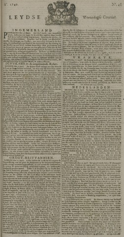 Leydse Courant 1740-04-20