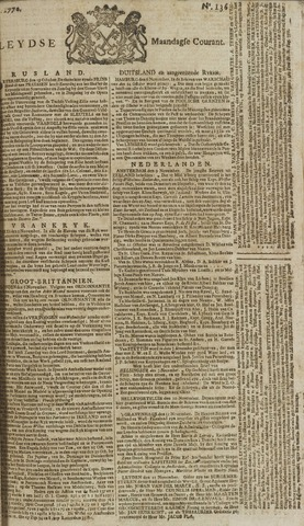 Leydse Courant 1770-11-12