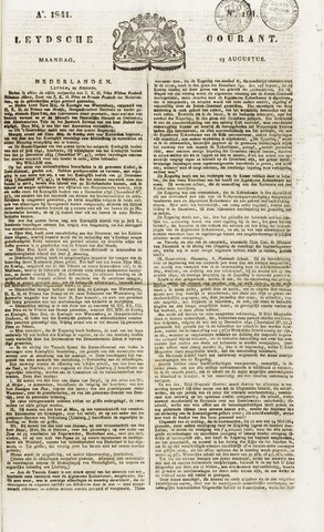 Leydse Courant 1841-08-23