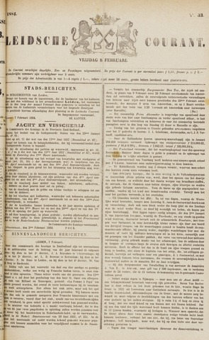 Leydse Courant 1884-02-08