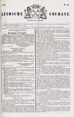 Leydse Courant 1883-01-23
