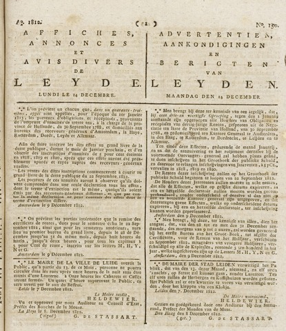 Leydse Courant 1812-12-14