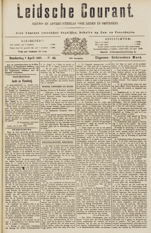 Leydse Courant 1887-04-07