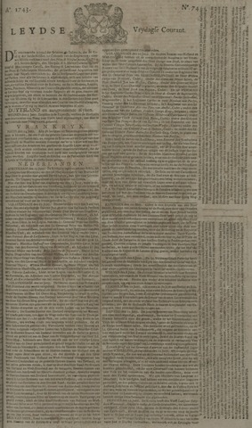 Leydse Courant 1743-06-21