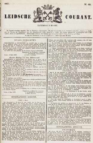 Leydse Courant 1877-03-03