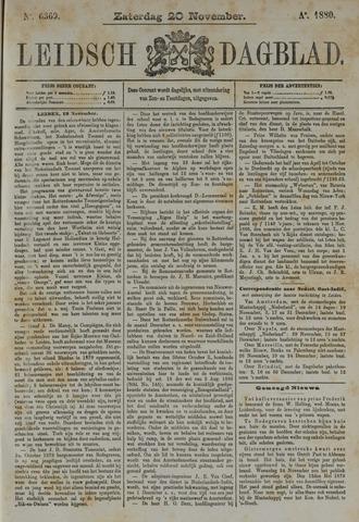 Leidsch Dagblad 1880-11-20