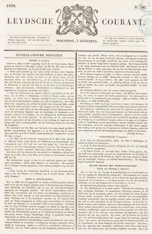 Leydse Courant 1850-08-07
