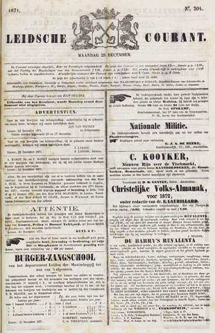 Leydse Courant 1871-12-25