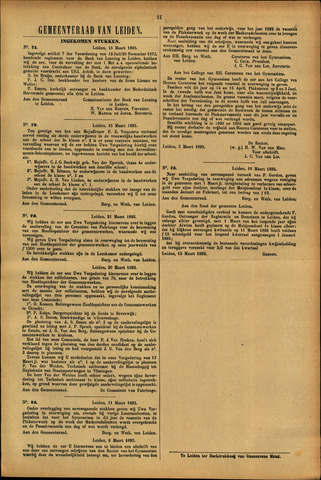 Handelingen van de Raad 1895-03-18