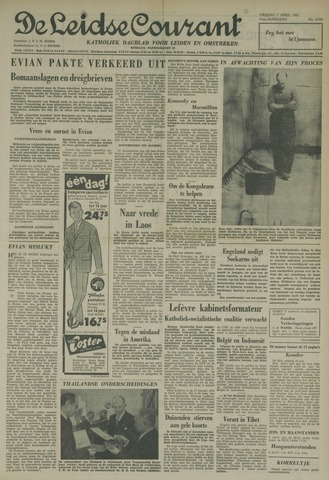 Leidse Courant 1961-04-07