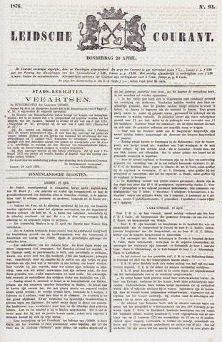 Leydse Courant 1876-04-20
