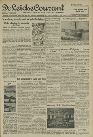 Leidse Courant 1952-05-26