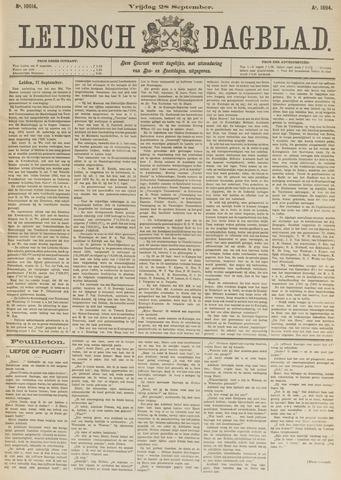 Leidsch Dagblad 1894-09-28