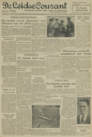 Leidse Courant 1950-08-11