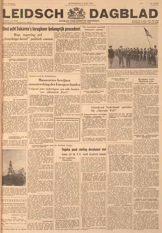 Leidsch Dagblad 1949-07-07