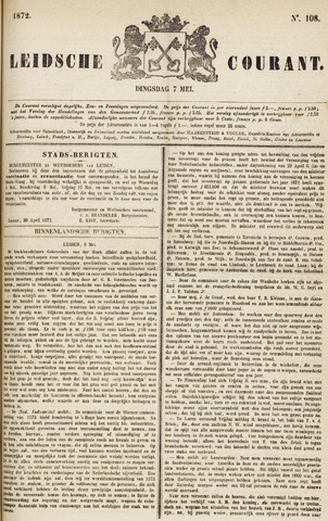 Leydse Courant 1872-05-07