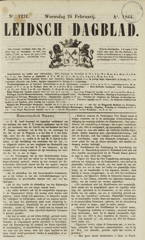 Leidsch Dagblad 1864-02-24