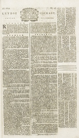 Leydse Courant 1819-02-05