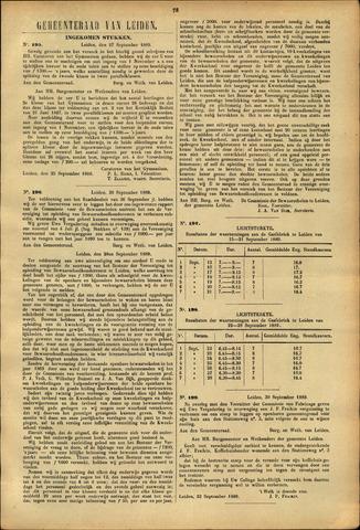 Handelingen van de Raad 1889-09-27
