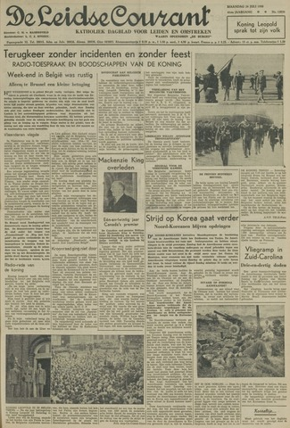 Leidse Courant 1950-07-24