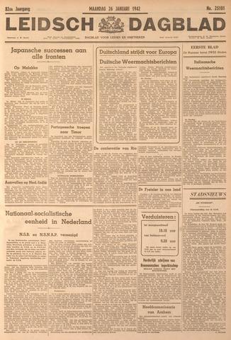 Leidsch Dagblad 1942-01-26