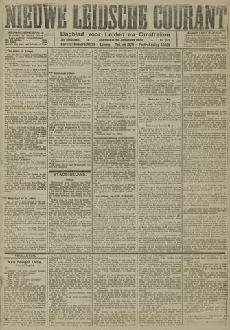 Nieuwe Leidsche Courant 1923-01-16
