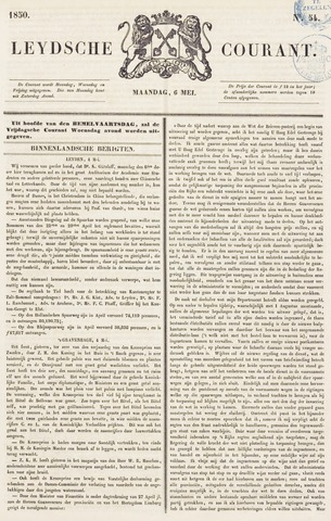 Leydse Courant 1850-05-06