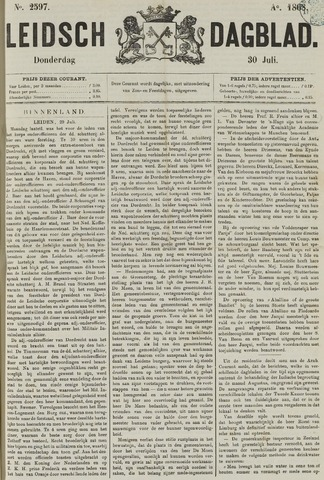 Leidsch Dagblad 1868-07-30