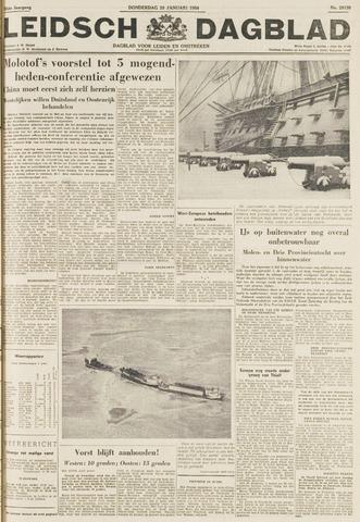 Leidsch Dagblad 1954-01-28