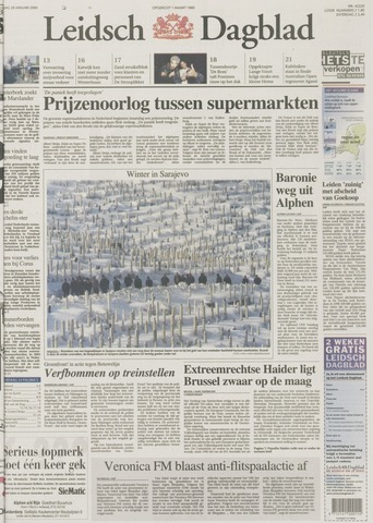 Leidsch Dagblad 2000-01-28