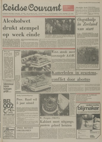 Leidse Courant 1974-11-04