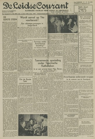 Leidse Courant 1949-08-27