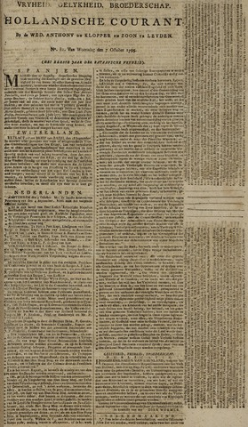 Leydse Courant 1795-10-07