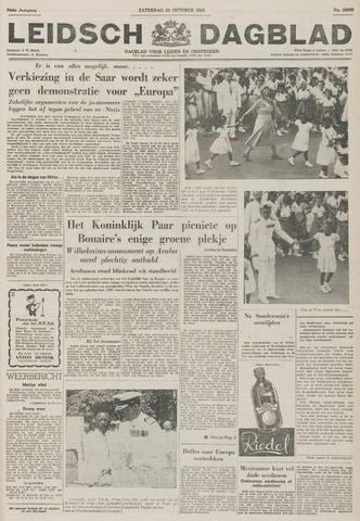 Leidsch Dagblad 1955-10-22