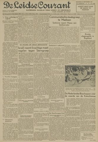 Leidse Courant 1948-09-20