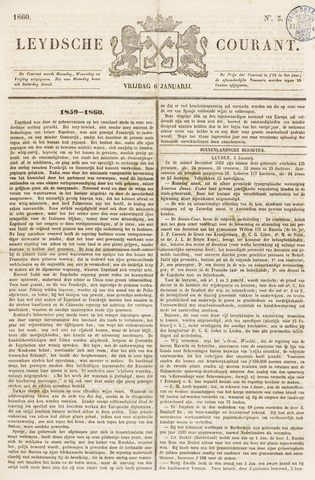 Leydse Courant 1860-01-06