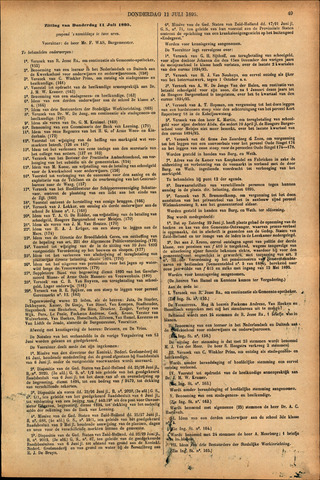 Handelingen van de Raad 1895-07-11