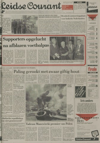 Leidse Courant 1989-08-19